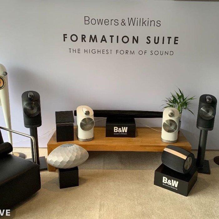B&W  (805單體無線喇叭)Formation DUO Bowers&Wilkines  新竹竹北鴻韻音響新竹北區總經銷
