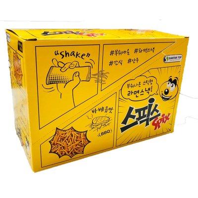 *貪吃熊*韓國 SPIX 搖搖麵 點心麵 搖搖香脆點心麵隨手包 小雞麵 韓國餅乾 BBQ 烤肉 搖搖小雞麵