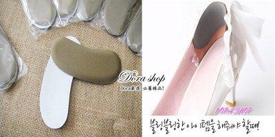 ☆DORA☆P防磨腳海綿後跟貼 調整鞋子偏大-保護後跟最好武器^^另有增高鞋墊!全店低價販售!