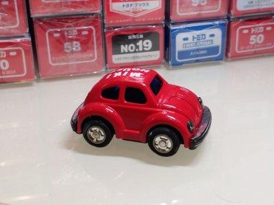 MIKI HOUSE 紅色 甲蟲車 飛輪車 細
