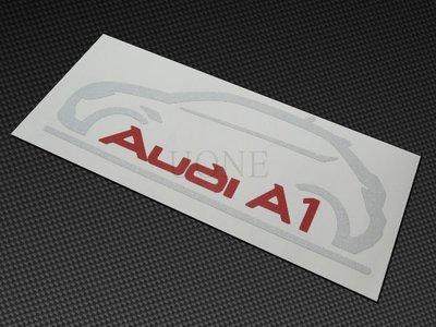 UONE 貨號130 福斯-Tiguan GOLF AUDI A1 t4車型3M反光貼紙 A4 B8 Avant