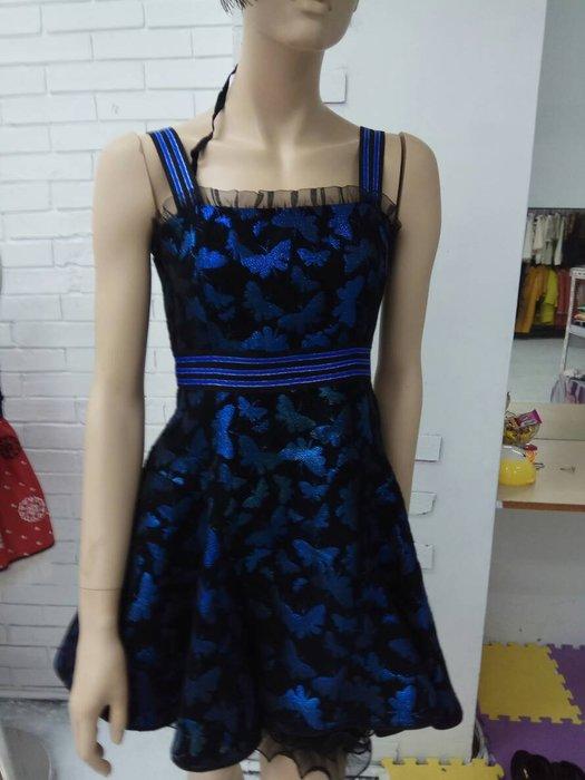 娃娃209M藍色洋裝特價980含運費