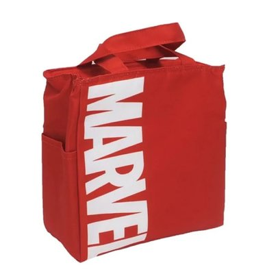 萌貓小店 日本直送-日本Marvel 保溫手挽袋マーベル保冷保温バッグロゴ