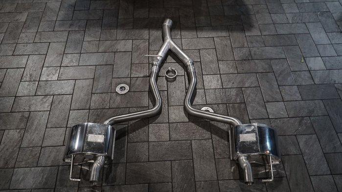國豐動力 EISSENMAN W205 S205 C205 AMG C43 尾段排氣管 全新 現貨供應 歡迎洽詢 報價含工資
