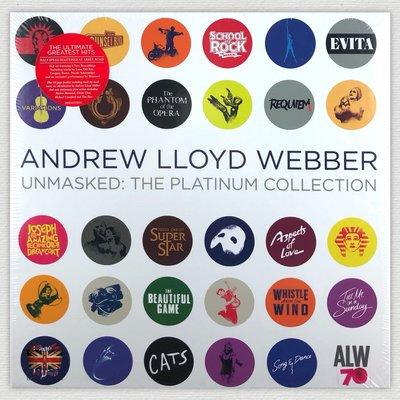 [英倫黑膠唱片Vinyl LP] 安德烈洛伊韋伯/傳奇金典  Andrew Lloyd Webber Unmasked