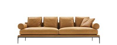 [米蘭諾家具]訂製款 複刻B&B Atoll 三人全牛皮沙發  設計師款 現代 北歐 台灣嚴選製造