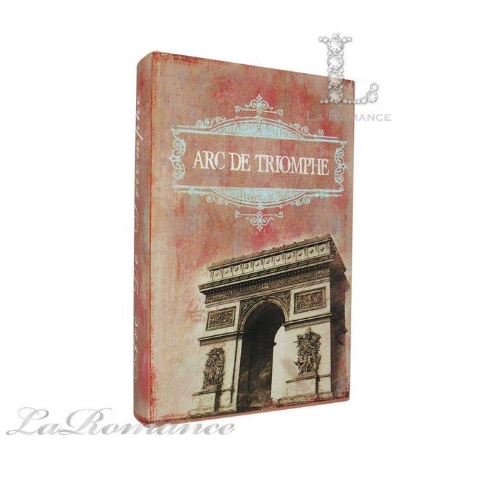 【芮洛蔓 La Romance】 歐式典雅造型書盒 (凱旋門) / 置物、收納盒
