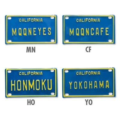 (I LOVE樂多)MOONEYES Bicycle License Plate迷你裝飾立體鐵牌 4種款式供你選擇