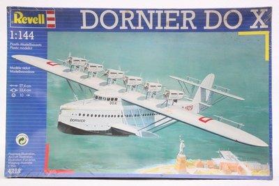 【統一模型玩具店】REVELL威望《多尼爾-長程客機 DORNIER DO X》1:144 # 4218