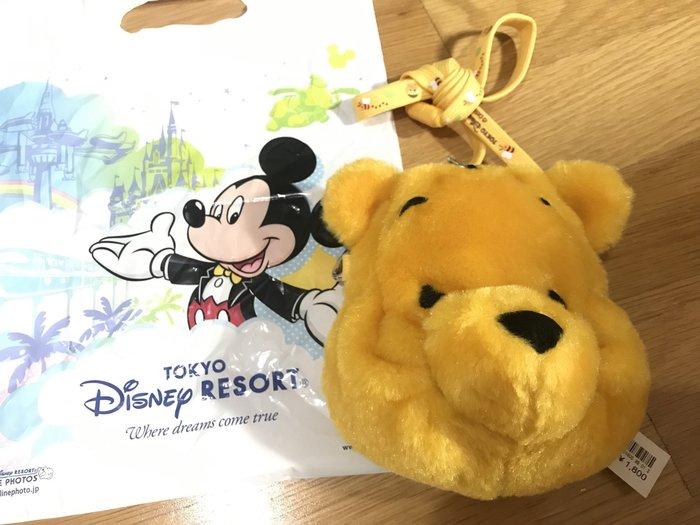 日本 東京迪士尼 Winnie小背包