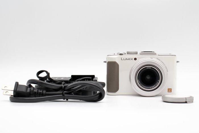 【橙市3C】Panasonic Lumix DMC-LX7 白 二手 類單眼相機 1,010 萬像素 #27270