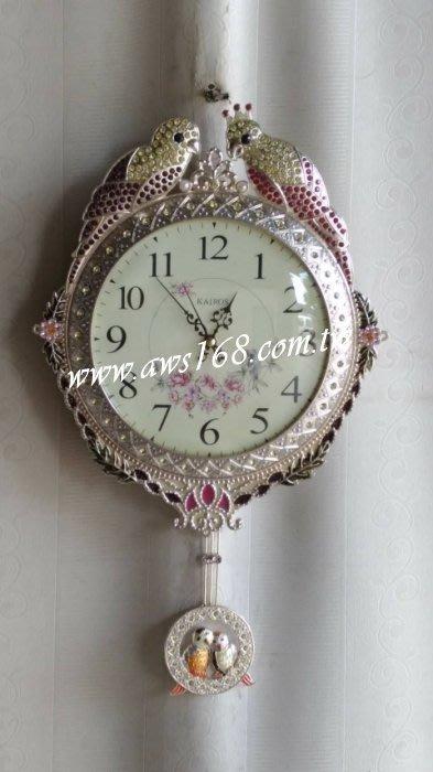 喜鵲造型時鐘 掛鐘