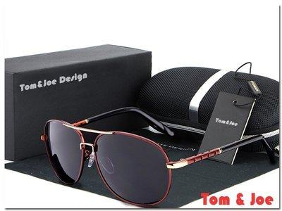 Tom & Joe 鈦鎂系列-EM2  造型 偏光 太陽眼鏡 墨鏡 司機鏡