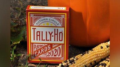 秋天Tally Ho撲克牌 Tally-Ho Autumn Circle Back Playing Cards