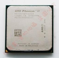 熊專業☆ 缺貨中 AMD Phenom II X6 1035T (HDT35TWFK6DGR) 六核 95W J201