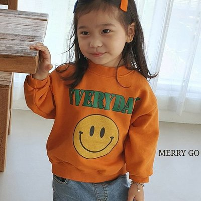 3~13 ♥上衣(ORANGE) MERRY GO ROUND-2 21秋季 MGR210823-053『韓爸有衣韓國童裝』~預購