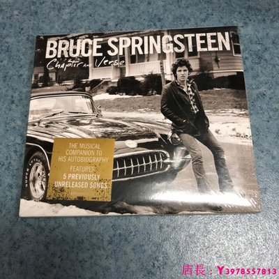 全新CD音樂 Chapter and Verse Bruce Springsteen 全新未拆封音樂CD