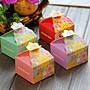 【氣球批發廣場】西式歐風 正方花邊 喜糖盒  糖果盒子 禮物包裝盒 情人節  糖盒 巧克力 糖果盒 婚禮小物