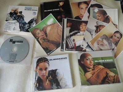 3CD發燒片 ALICIA KEYS 葛萊美獎專輯女歌手Songs In A Minor Fallin+2張絕版進口單曲