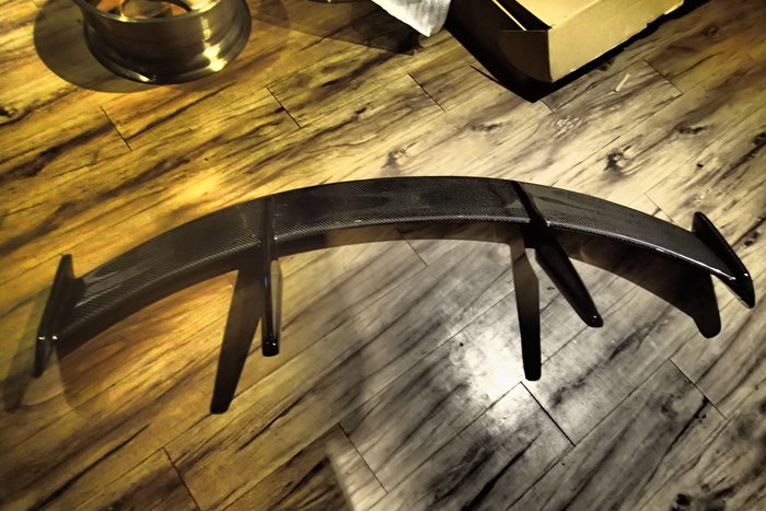 DJD20102434 MAZDA3  2014-2020 碳纖維 CARBON 尾翼套件