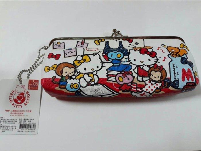【巧甯的店】特價 三麗鷗 Hello Kitty 鉛筆盒 化妝包 賺評價