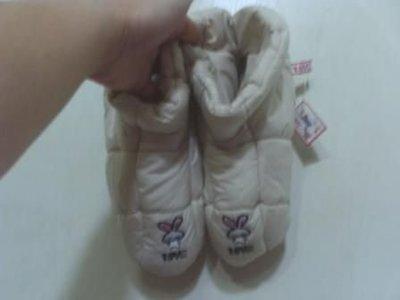 全新LOVE兔保暖鞋(長約25公分