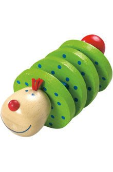【HABA 嬰幼兒玩具】 蟲蟲波浪鼓 滿2000免運費         ☆天然保養品達人☆