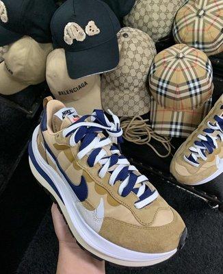 [ 羅崴森林 ] Nike x Sacai Vaporwaffle 現貨 芝麻藍色US6/9/9.5/10/10.5歡迎刷卡