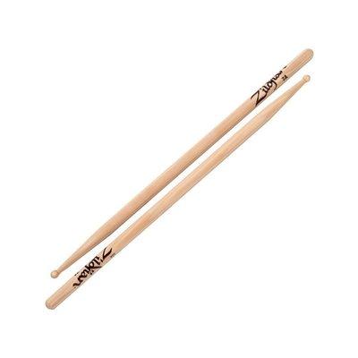 鼓棒 Zildjian 7AWN 爵士鼓棒 美國製 胡桃木 原木色 -【黃石樂器】