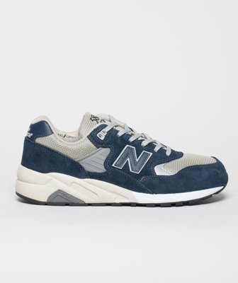 @ A - li 269 NEW BALANCE MRT580NV 經典海軍藍灰配色 3M反光 麂皮網布 休閒跑鞋