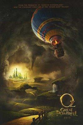 奧茲大帝 ( Oz: The Great and Powerful ) - 美國原版雙面電影海報 (2013年)預告版1