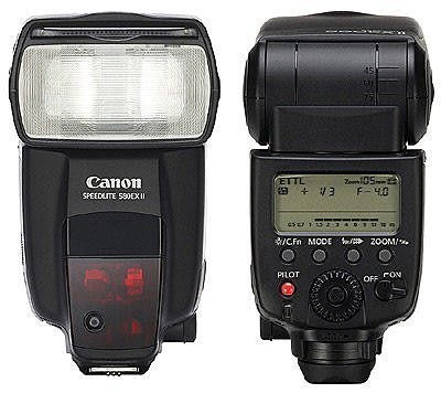 【漫畫物語】二手Canon 旗艦級 原廠 Canon 580EX II 外閃 閃光燈  高雄可自取
