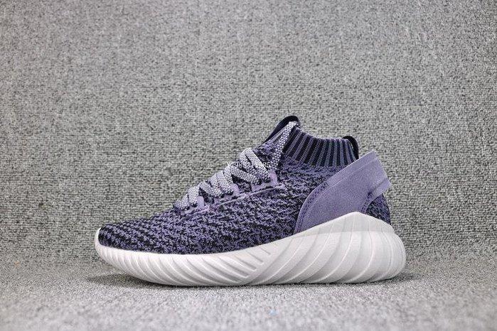 Adidas Tubular Doom Sock PK 紫白 復古 透氣 休閒運動慢跑鞋 女鞋 CQ2482