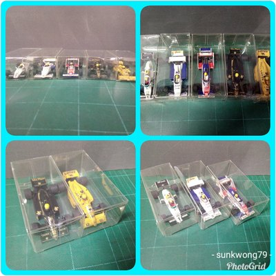 AYRTON SENNA RACING CAR COLLECTION 5架