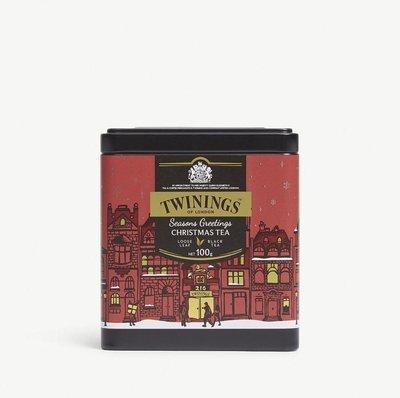 (預購)英國 Twinings loose leaf black tea 聖誕限定 100g