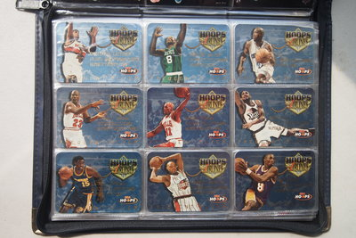1997-98 Hoops Frequent Flyer Club 共20張