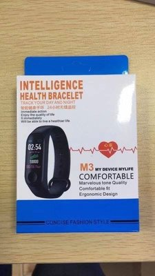 *預購*多功能M3智能運動手錶(2件一黑一紅,特定買家下標區)
