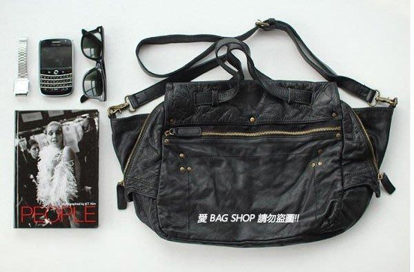 愛 BAG SHOP 韓國空運 DAAD 秋冬新款 釘釦 真皮新牛皮肩背大方包 4150 預購