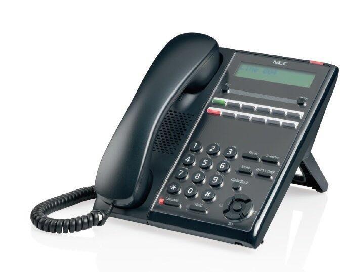 數位通訊~含稅 NEC SL 2100  IP7WW-12TXH-A1 TEL(BK)  12鍵 螢幕話機 黑色