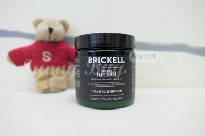 【Sunny Buy】◎現貨◎ Brickell  Renewing Face Scrub 男士磨砂潔膚膏 4oz