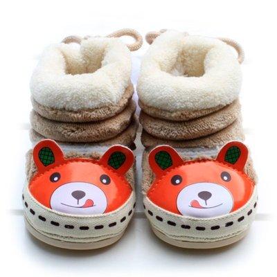 森林寶貝屋~軟膠底寶寶棉鞋~嬰兒學步鞋...