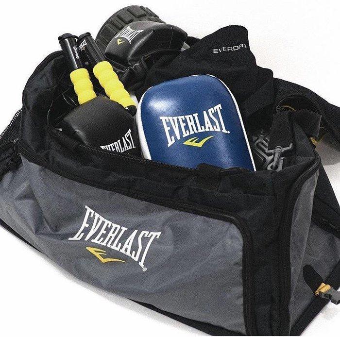 專業選手用EverLast拳擊裝備包 超大容量 手提 斜背 收納強 連腳護脛都可輕鬆平放