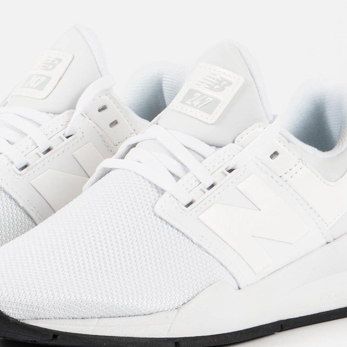 奇星 NewBalance 247 女鞋 休閒運動鞋 全白 透氣輕便舒適 #WS247UD