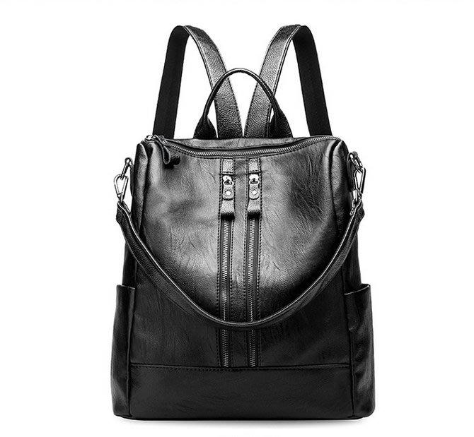 後背包 側背包 女用後背包推薦 觸感柔韌 羊皮背包 書包 DL 600【FQ包包】