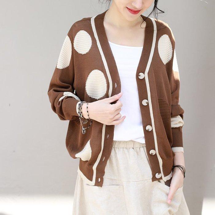 ||一品著衣|| 客商春夏麻紗線短版針織開衫外套QQ