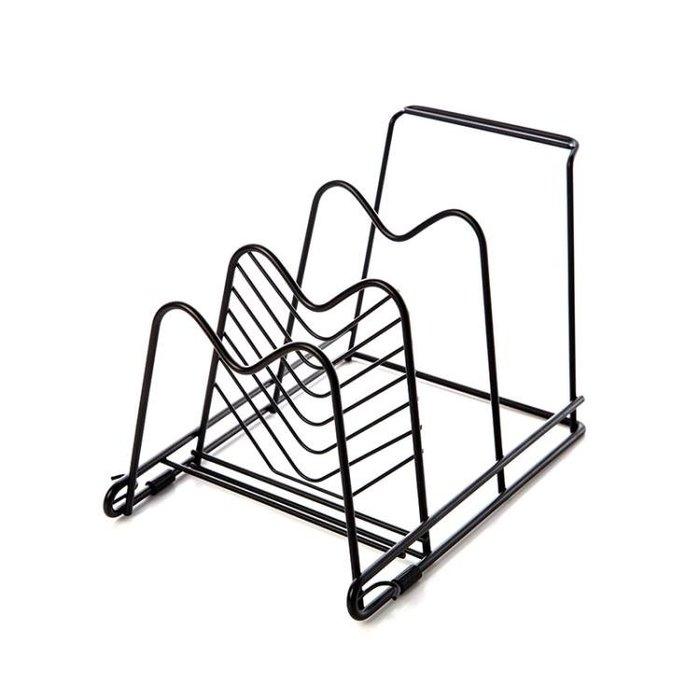 廚具置物架廚房用品鍋架收納架調味品架子掛架鍋蓋架儲物架Y-優思思