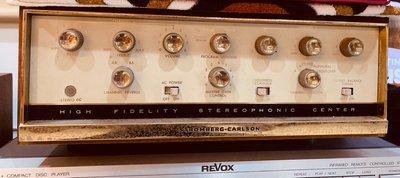 美國Stromberg Carlson Stereo 60 綜合 真空管 擴大機 原裝木箱