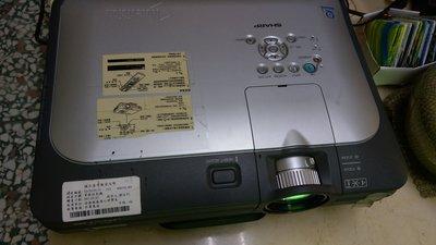 SHARP  LCD PROJECTOR 單槍投影機Model:XG-C60X(少許瑕疵請看說明)