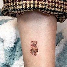 【萌古屋】獨家款小熊玩偶 - 男女防水紋身貼紙原宿刺青貼紙TZ-180 K62