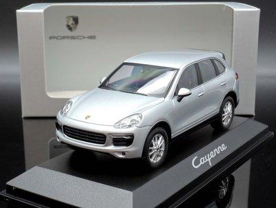 【MASH】現貨瘋狂價 原廠 Minichamps 1/43 Porsche Cayenne 958 銀 2014